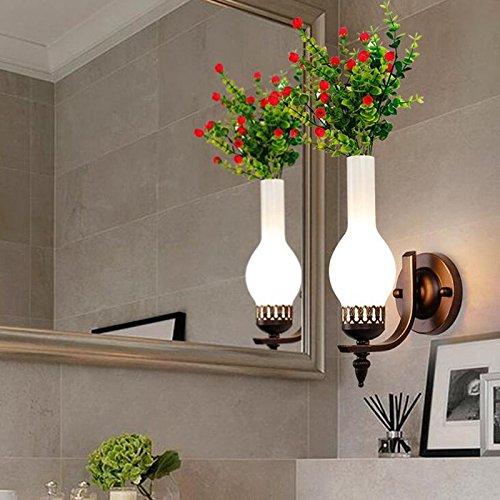 ZT Appliques personnalité Moderne LED abat-jour Fixation Intérieur Chevet Éclairage vivant chambre restaurant Chambre, B