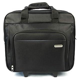 Targus Premium Executive Business Travel Roller Bag for 15.6-Inch, Black (TBR003EU)