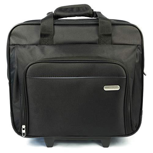 Targus TBR003EU Executive - Laptoptasche mit Rollen für Bildschirmdiagonalen von bis zu 15,6Zoll - schwarz -