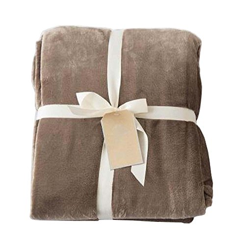 [G] Corail Velvet Throw Blanket Couverture de Canapé Canapé Couverture Pour Nap