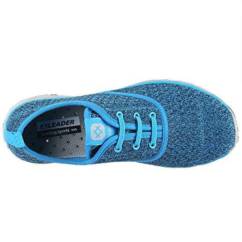 aleader Damen Schnell trocknend Aqua Wasser Schuhe Blue8859A
