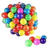 50-1000 Bälle für Bällebad - Ball Ø 5,5cm - Softball Farbmix - Kinder Spielbälle - Bunte Bälle...