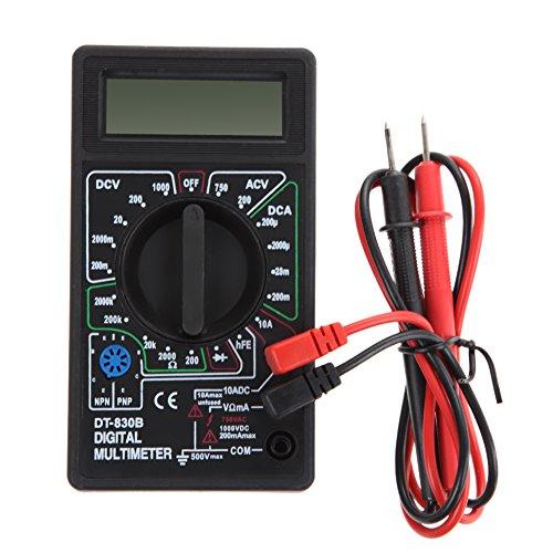 Demiawaking Digital-Multimeter Wechselstrom-DC-Voltmeter Ohmmeter Elektrische Multi-Tester