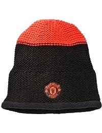 ... Cappelli e cappellini   Berretti in maglia   adidas. Manchester United  15 16 Tifosi Calcio Beanie - Nero 9bffbd6c1f40