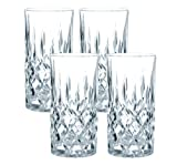 Nachtmann Highball Glasses, Set of 4, Crystal, 375 ml, Noblesse, 89208