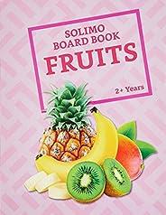 Amazon Brand - Solimo Long Board Book, Fruit