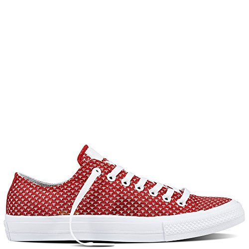 Converse , Damen Sneaker Low-Tops , rot - Casino/White/White - Größe: 35.5...