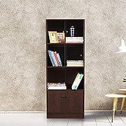 HomeTown Crony Engineered Wood Book Shelf in Wenge Colour