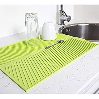 ArtMoon Dry Silicon Draining Mat Pot Holder Trivet 13