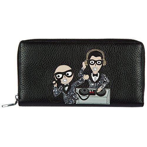Dolce & Gabbana Herren Geldbörse Portemonnaie Echtleder