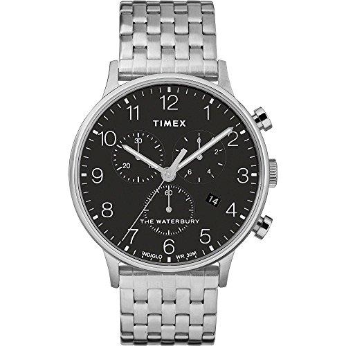 Timex Orologio TW2R71900 ARGENTO ACCIAIO 316 L Uomo