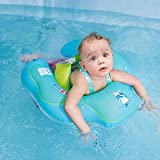 Efforty Baby Schwimmring Baby Aufblasbare Schwimmen Float Ring Kinder Taille Aufblasbare Schwimmer Pool Spielzeug für Badewanne und Pools Schwimmen Trainer von 6-48month (S 18.1X18.9in)