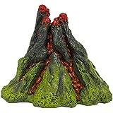 Nemo 5Inch airear volcán resina Acuario Adorno