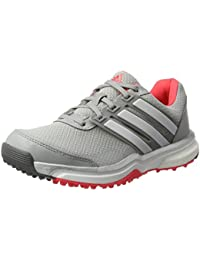 adidas W climacross Boost Golf Schuhe, Damen 36 Weiß/silberfarben