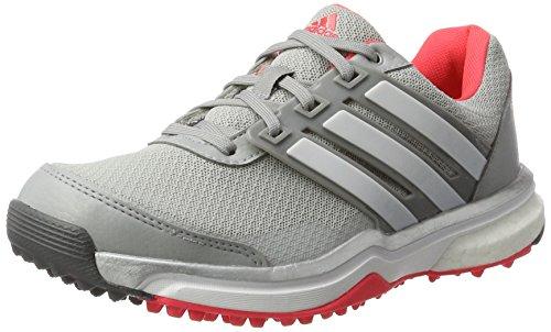 wholesale dealer d3fa5 7e2db Chaussures De Golf Adidas W Adipower Sport Boost-2 Pour Femme Gris   Rouge