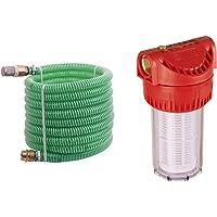 T.I.P. 30907 Saugschlauch Ansaugschlauchgarnitur Messing (Schlauchlänge 7m) & Vorfilter für Garten Pumpen und…