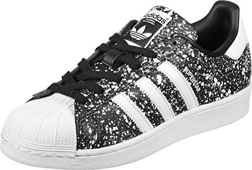 adidas Damen Superstar Sneaker Schwarz (Core Black/Footwear White/Core Black)