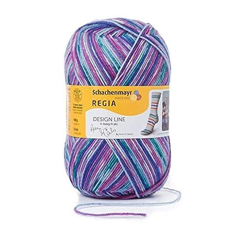 Regia 9801270-03653 Handstrickgarn, Wolle, star night