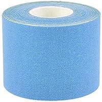 Kinesiologie elastisches Klebeband Seil Sport Physio Muskel Injury Unterstützung (blau), blau, 5cm*5m preisvergleich bei billige-tabletten.eu