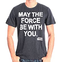 Star Wars Star Wars - May The Force - Camiseta Hombre
