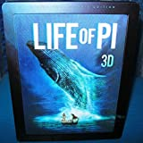 Life of Pi 3D - 2-Disc Limited Edition Lenticular Steelbook