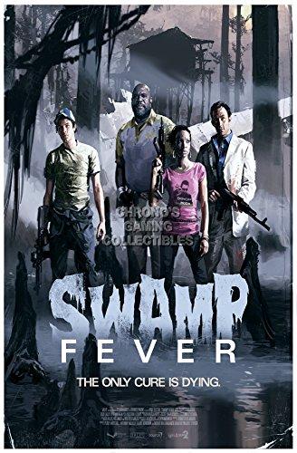 CGC Große Poster–Left 4Dead 2Swamp Fever Xbox 360PC–l4d007, Papier, 24