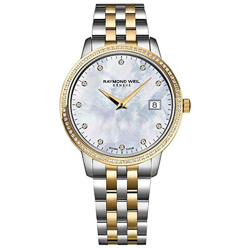 Ladies Raymond Weil Toccata Diamond Watch 5988-SPS-97081