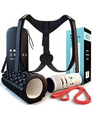 Orthomechanik Haltungskorrektur Set! Mit Video Und Poster! Das Wohltuende Haltungstrainer, Rückenstabilisator Training, Damen Herren