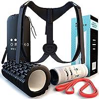 Orthomechanik Haltungskorrektur Set! Das Einfache Geradehalter Rückenstabilisator Programm Gut Erklärt Mit Video Und Poster, Damen Herren