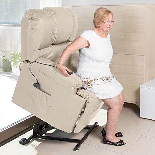 Massagesessel mit Hebefunktion 6012