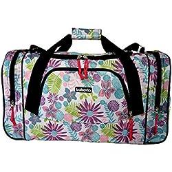 Bolsa de viaje equipaje de mano bolsa de deporte (5520 Flor)