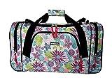 Sac de voyage / bagage à main / sac de sport (5520 Floral)