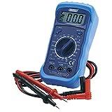 Draper Digital Multimeter with Backlight - Blue