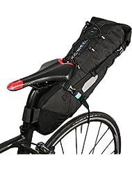 ROSWHEEL 10L Sac de Vélo Sacoche à Vélo Porte-Bagages Arrière Fibre de Polyester Imperméable à l'eau et Résistant aux Déchirures