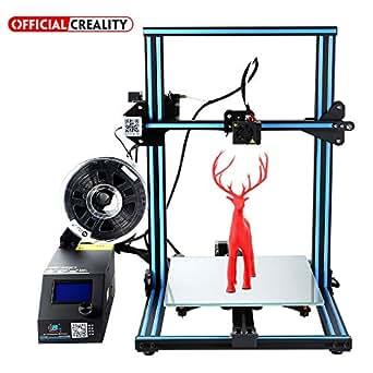 [Negozio diretto] Creality Stampante 3D CR-10, Prusa I3 Kit metallo assemblato a metà di grandi dimensioni 300X300X400mm