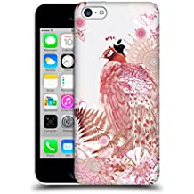 Official Monika Strigel Coral Tropical Peacock 2 Hard Back Case for Apple iPhone 5c