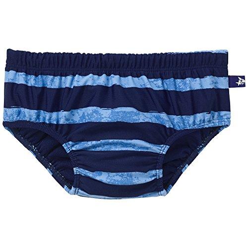 Schiesser Baby - Jungen Schwimmbekleidung, Badehose Windelslip, Blau (admiral 801), Gr. 86/92 (1-1½Y)