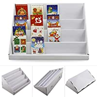 AllRight 4 Tier Greeting Card Stand Display Collapsible Card Stand