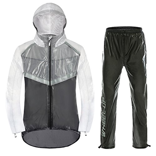 BR Fahrrad-Regenjacke leichte Funktionsjacke wasserdicht Winddicht /& atmungsaktiv Fahrradjacke f/ür Damen und Herren