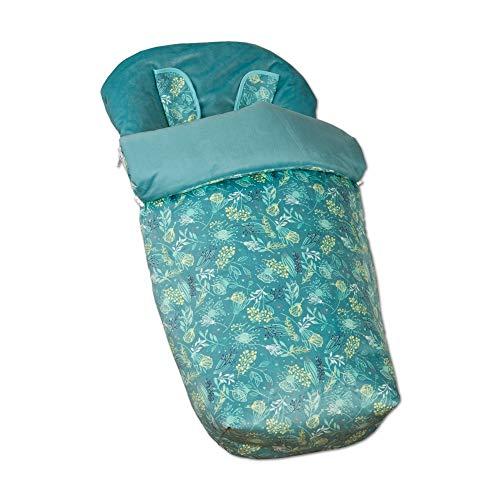 babyline Garden – sac de chaise avec moufles, Unisexe, Couleur Vert