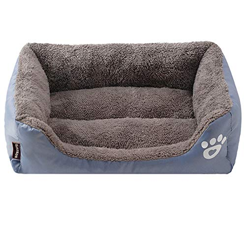 AQGY Zwinger Small Medium Dog House Haustierbett Zwinger Waterproof Bottom Soft Warm House Cat Hundebett MH