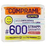 Wepa Carta Igienica in Ovatta di Pura Cellulosa - Pacco da 4 Rotoli