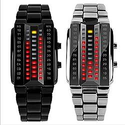 Highdas Cool Creative LED Display Waterproof Electronic Watch Couple lovers Stylish Luminous Wrist Watch