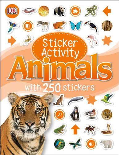 Sticker Activity Animals