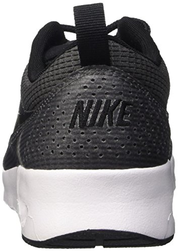 Nike Air Max Thea, Baskets Basses Femme Gris (Dark Grey / Black-White)
