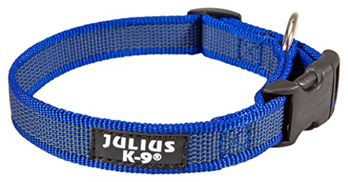 Julius-K9 - Collar para perro, Azul (Blue/Gray), 20mm*27-42 cm