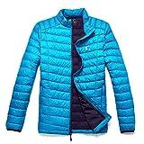 TAK Herren Daunenjacken Leicht Down Jacket Aqua blau Königsblau-01 XL