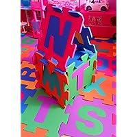 Puzzle Goma Eva Baldosa Para Suelo 26 Piezas Abecedario Completo Niños (26 piezas)