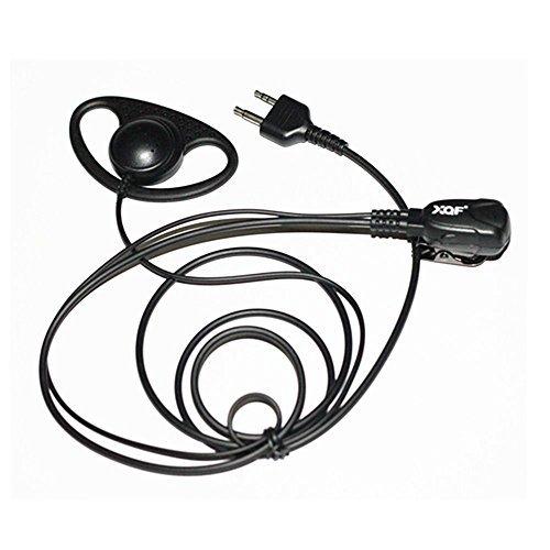 Caroo D Form Headset Ohrhörer für Midland LXT 600560535500490460440Etc.