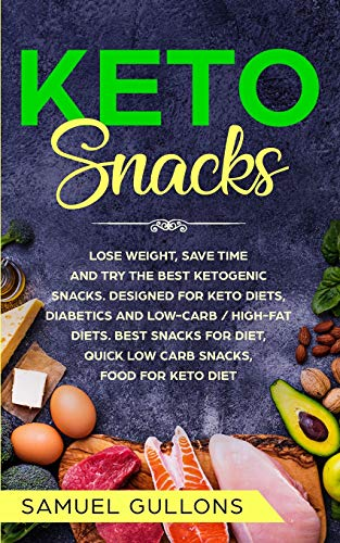 Keto Snacks: Keto Snack: lose weight, save time and try the best ketogenic snacks. Designed for Keto diets, diabetics and low-carb / high-fat diets. Best snacks for diet, quick low carb snacks.